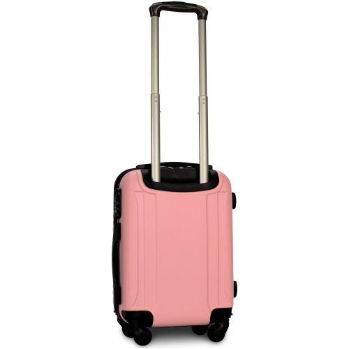 Чемодан Fly 1096 мини ручная кладь светло-розовый