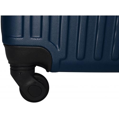Чемодан Fly 1096 мини ручная кладь темно-синий