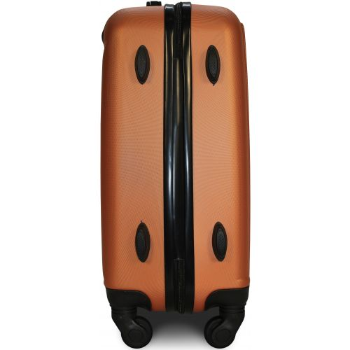 Чемодан Fly 1096 средний оранжевый