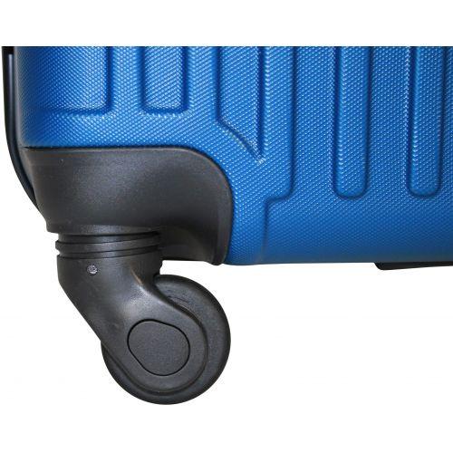 Чемодан Fly 1096 средний синий