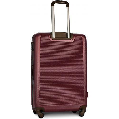 Набор чемоданов Fly 1101 4 штуки бордовый