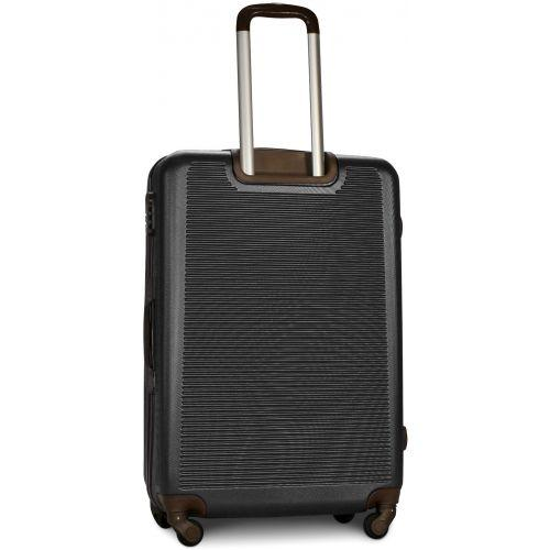 Набор чемоданов Fly 1101 4 штуки серый