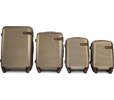 Набор чемоданов Fly 1101 4 штуки шампань