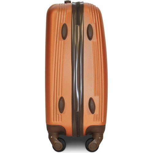 Набор чемоданов Fly 1101 4 штуки оранжевый