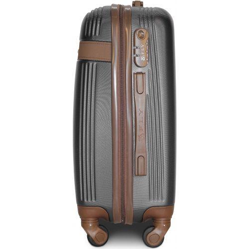 Набор чемоданов Fly 1101 3 штуки серый