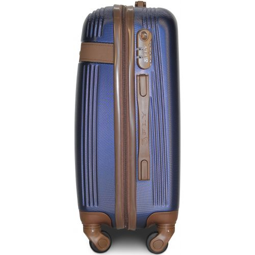 Набор чемоданов Fly 1101 3 штуки темно-синий