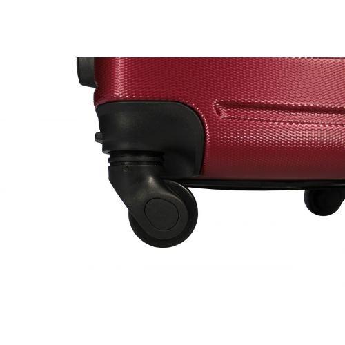 Набор чемоданов Fly 1107 4 штуки бордовый