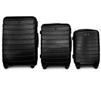 Набор чемоданов Fly 1107 3 штуки черный