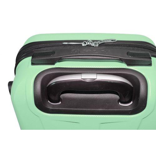 Набор чемоданов Fly 1107 3 штуки мятный
