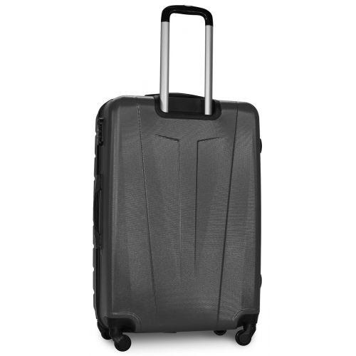 Набор чемоданов Fly 1107 3 штуки серый