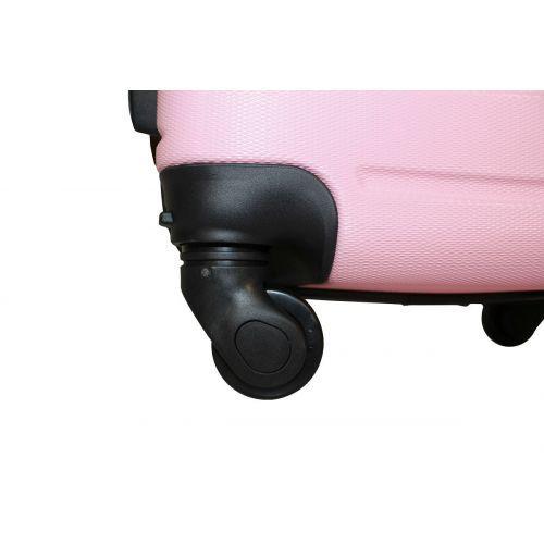 Чемодан Fly 1107 большой светло-розовый