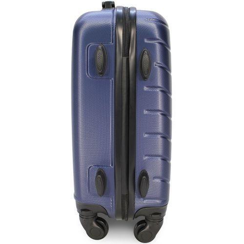 Набор чемоданов Fly 1107 4 штуки темно-синий