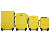 Набор чемоданов Fly 1107 4 штуки желтый