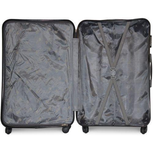 Набор чемоданов Fly 960 4 штуки серый