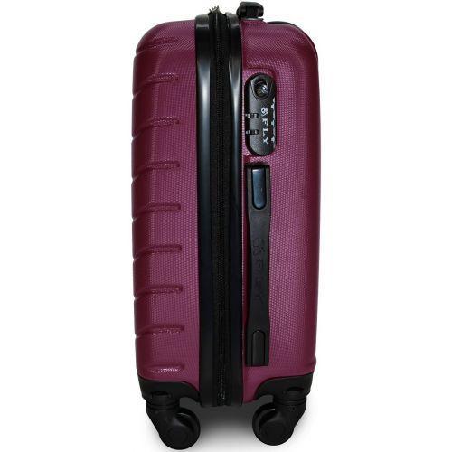 Чемодан Fly 1107 большой фиолетовый