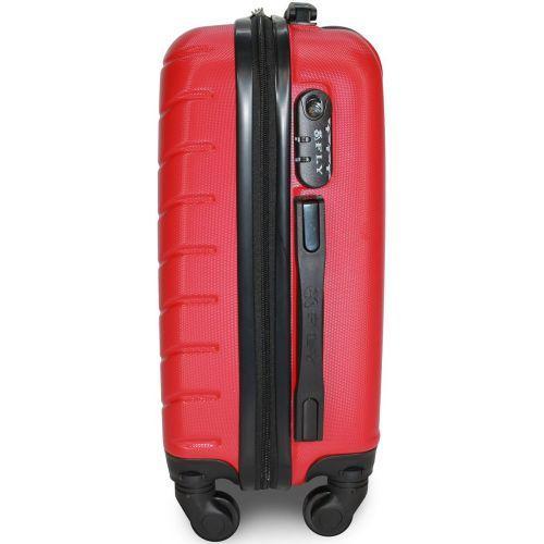 Чемодан Fly 1107 большой красный