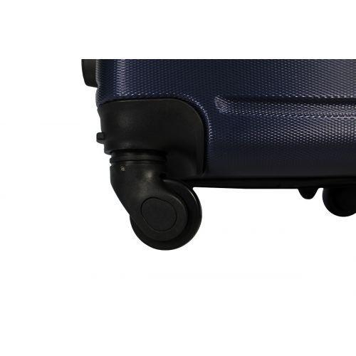 Чемодан Fly 1107 средний темно-синий
