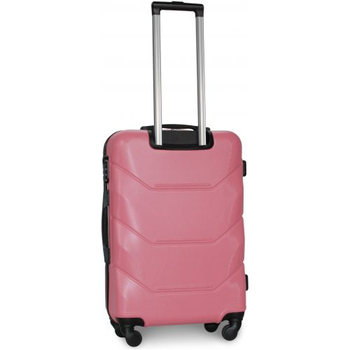 Чемодан Fly 147 большой светло-розовый