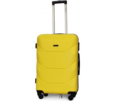 Чемодан Fly 147 средний желтый