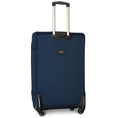 Набор чемоданов Fly 1706 на 4-х колесах 3 штуки синий