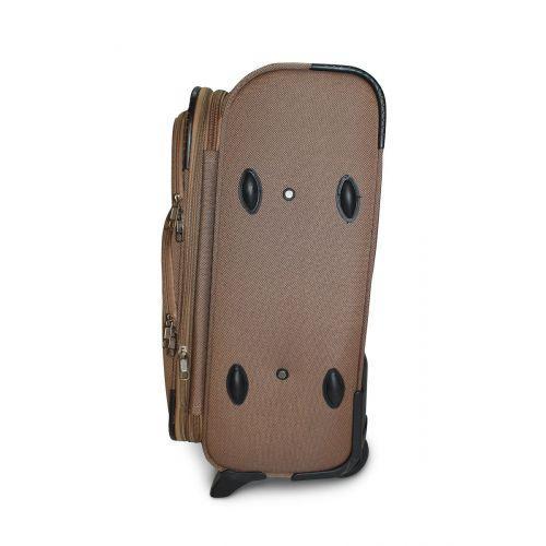 Набор чемоданов Fly 1708 4 штуки на 2-х колесах бежевый