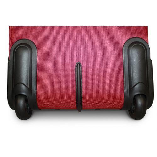 Набор чемоданов Fly 1708 3 штуки на 2-х колесах бордовый