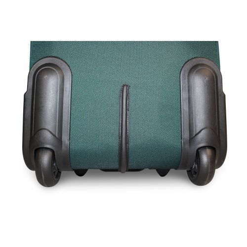 Набор чемоданов Fly 1708 3 штуки на 2-х колесах зеленый