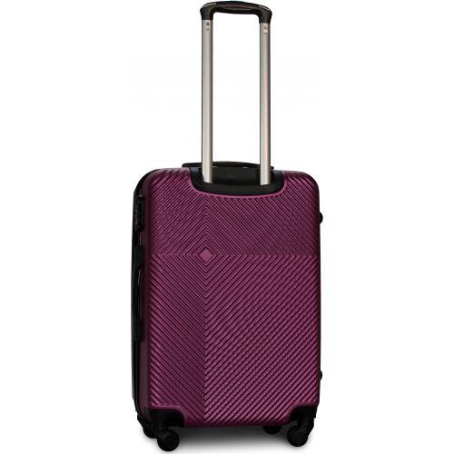 Чемодан Fly 2130 средний фиолетовый