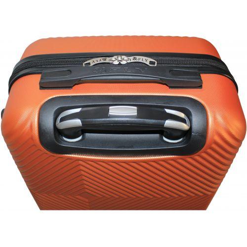 Чемодан Fly 2130 мини ручная кладь оранжевый