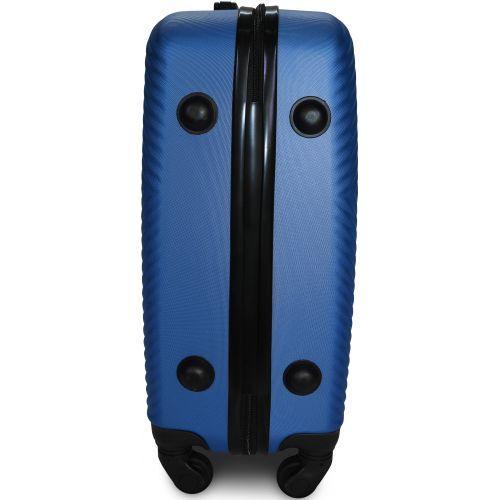 Чемодан Fly 2130 средний синий