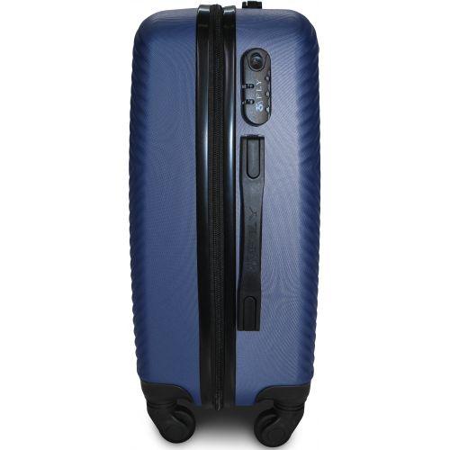 Чемодан Fly 2130 средний темно-синий