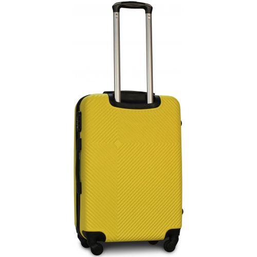Чемодан Fly 2130 средний желтый