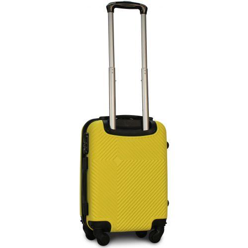Чемодан Fly 2130 мини ручная кладь желтый