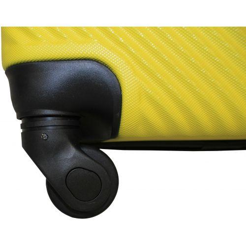Чемодан Fly 2130 большой желтый