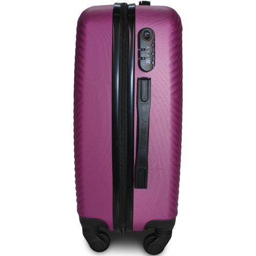 Чемодан Fly 2130 мини ручная кладь фиолетовый