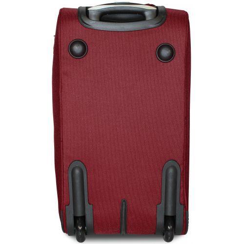 Дорожная сумка на 2 колесах Fly 2611 маленькая S бордовая