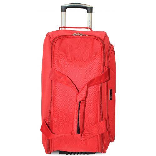 Дорожная сумка на 2 колесах Fly 2611 большая L красная