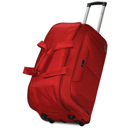 Набор дорожных сумок на 2 колесах Fly 2611 красный