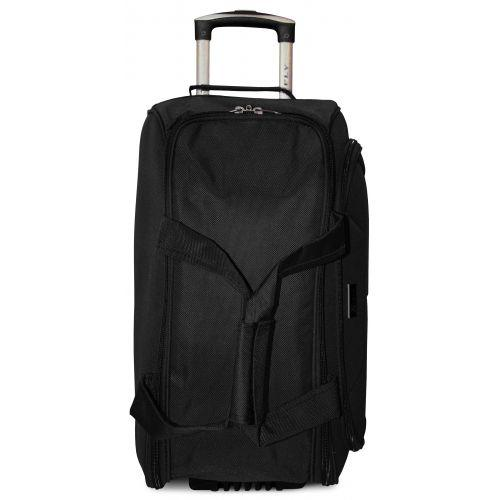Дорожная сумка на 2 колесах Fly 2611 средняя M черная