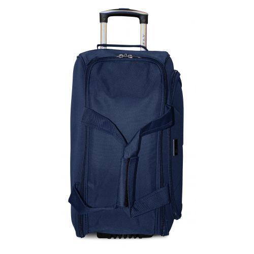 Дорожная сумка на 2 колесах Fly 2611 средняя M синяя