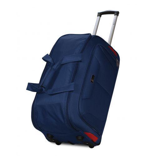 Набор дорожных сумок на 2 колесах Fly 2611 синий