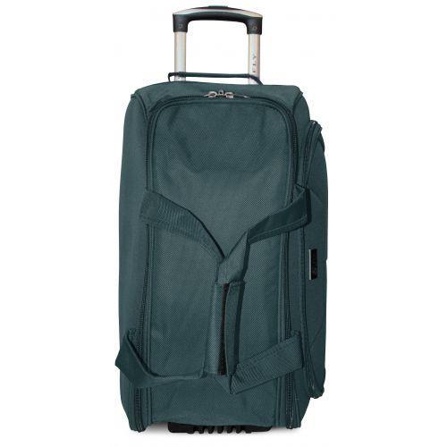 Дорожная сумка на 2 колесах Fly 2611 средняя M зеленая