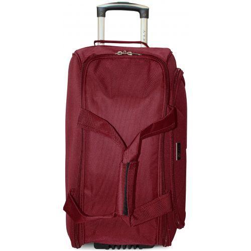 Набор дорожных сумок на 2 колесах Fly 2611 бордовый