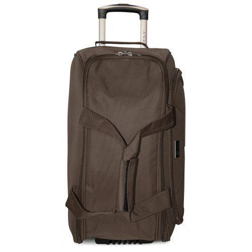 Набор дорожных сумок на 2 колесах Fly 2611 кофейный
