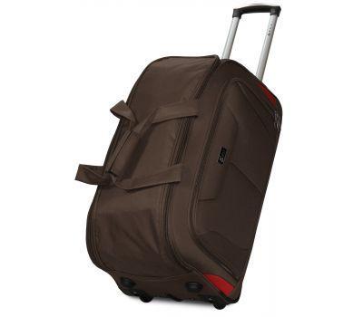 Дорожная сумка на 2 колесах Fly 2611 большая L кофейная