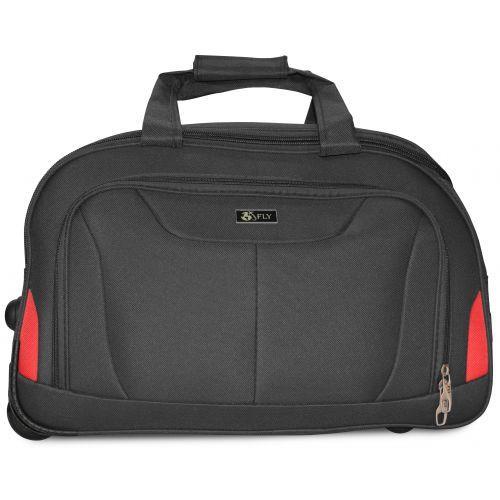 Набор дорожных сумок на 2 колесах Fly 2611 серый