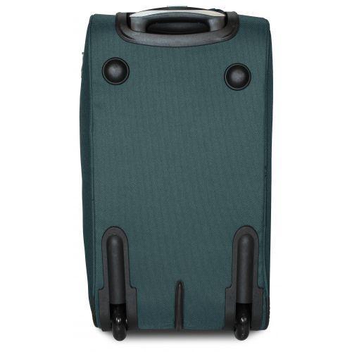 Набор дорожных сумок на 2 колесах Fly 2611 зеленый