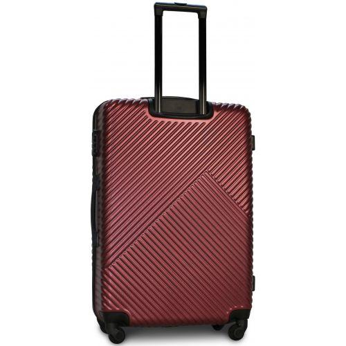 Набор чемоданов Fly 2702 4 штуки бордовый