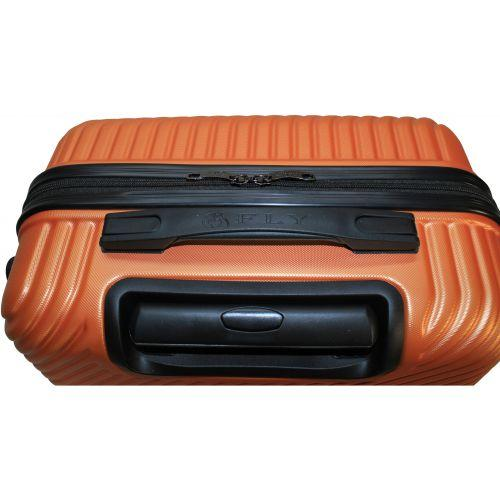 Набор чемоданов Fly 2702 3 штуки оранжевый