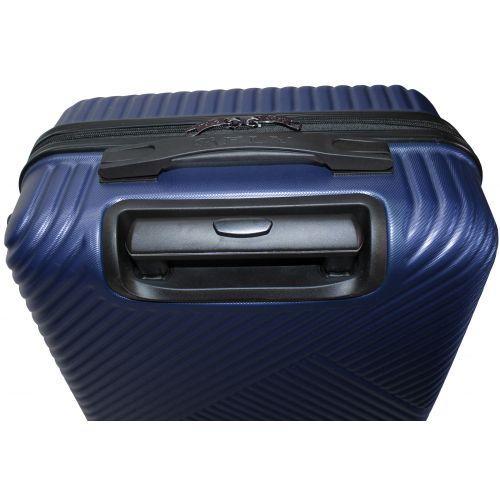 Набор чемоданов Fly 2702 3 штуки темно-синий